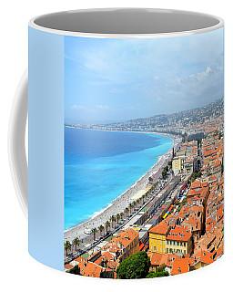 Nice France Coastline Coffee Mug