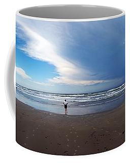 Nicki At Port Aransas Coffee Mug