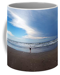 Nicki At Port Aransas Coffee Mug