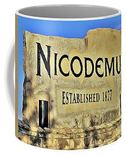 Nicodemus, 1877 Coffee Mug