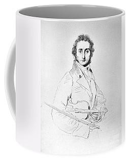 Nicolo Paganini (1782-1840) Coffee Mug