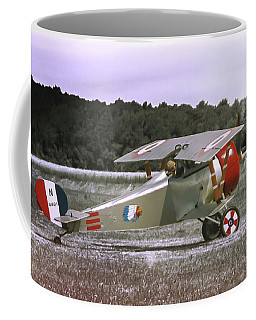 Nieuport 17 Coffee Mug by Guy Whiteley