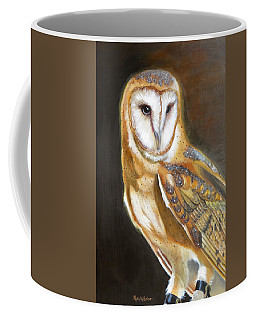 Coffee Mug featuring the painting Night Angel by Phyllis Beiser