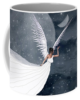 Night Angel Coffee Mug by Rosalie Scanlon