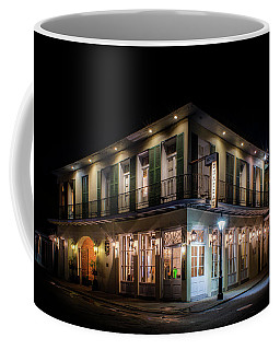 Coffee Mug featuring the photograph Night At Chateau Hotel by Greg Mimbs