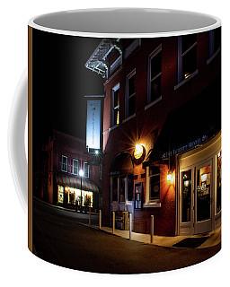 Night At The Everett Hotel Coffee Mug