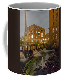 Night At The River Vertical Coffee Mug
