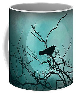 Coffee Mug featuring the photograph Night Bird by Patricia Strand