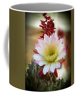 Coffee Mug featuring the photograph Night-blooming Cereus 2 by Marilyn Smith