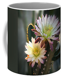 Coffee Mug featuring the photograph Night-blooming Cereus 3 by Marilyn Smith