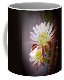 Coffee Mug featuring the photograph Night Blooming Cereus by Marilyn Smith