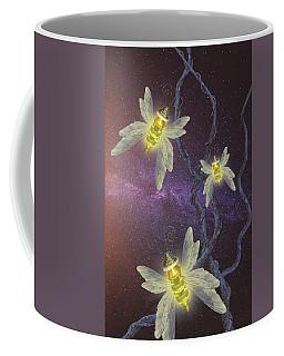 Night Butterflies Coffee Mug