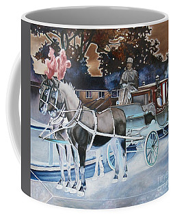 Night Coach Coffee Mug