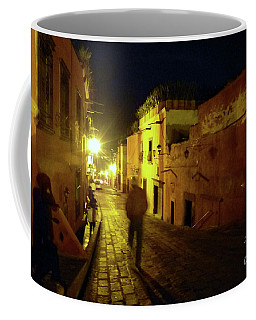 Coffee Mug featuring the photograph Night Dream by Rosanne Licciardi