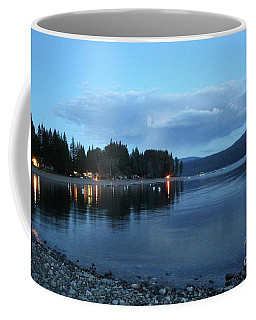 Coffee Mug featuring the photograph Night Fall by Victor K