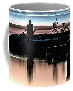Night Fisherman Coffee Mug