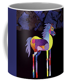 Night Foal Coffee Mug by Bob Coonts
