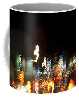 Night Forest - Light Spirits Limited Edition 1 Of 1 Coffee Mug