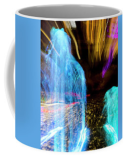 Night Fountain Abstract Coffee Mug
