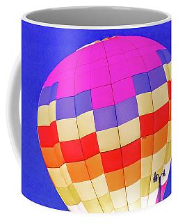 Night Glow At The Hot Air Balloon Festival Coffee Mug