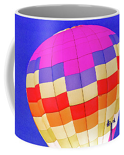 Night Glow At The Hot Air Balloon Festival Coffee Mug