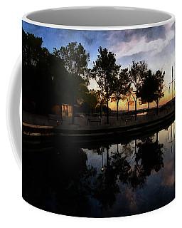 Night Harbour Coffee Mug