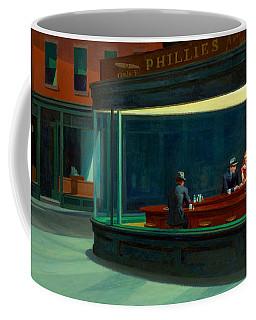 Night Hawks Coffee Mug by Edward Hopper