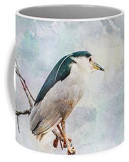 Night Heron Coffee Mug by Debbie Green