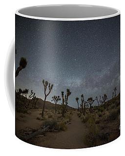 Night Hike Thru Joshua Tree  Coffee Mug