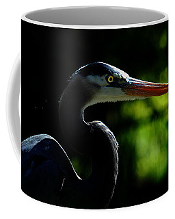Coffee Mug featuring the photograph Night Hunter by Howard Bagley