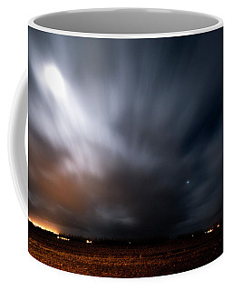 Coffee Mug featuring the photograph Night In Iceland by Dubi Roman
