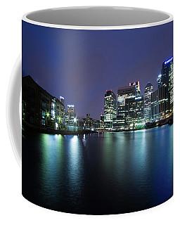 Coffee Mug featuring the photograph Night In London  by Mariusz Czajkowski