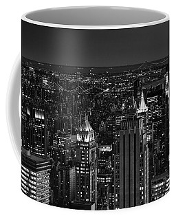 Night In Manhattan Coffee Mug