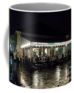 Night Life At Cafe Du Monde Coffee Mug