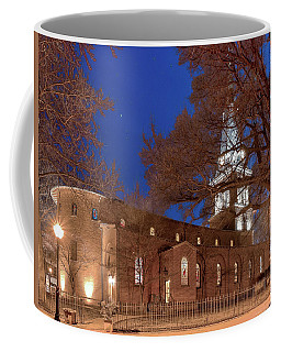 Night Lights St Anne's In The Circle Coffee Mug