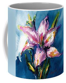 Night Lily Coffee Mug