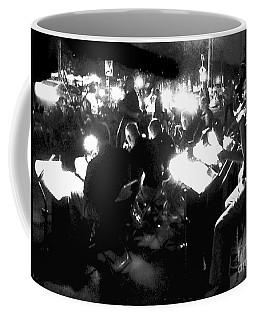 Night Music Coffee Mug by Felipe Adan Lerma
