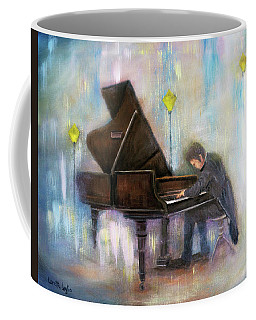 Night Music Coffee Mug by Loretta Luglio