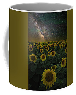 Coffee Mug featuring the photograph Night Of A Billion Suns by Aaron J Groen
