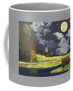 Night Of The Grizzly Coffee Mug