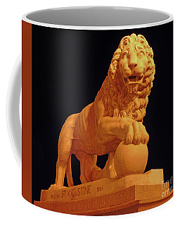 Night Of The Lion Coffee Mug