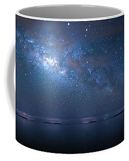 Coffee Mug featuring the photograph Night Of The Milky Way by Mark Andrew Thomas
