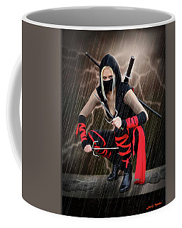 Night Of The Ninja Coffee Mug