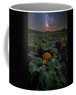 Coffee Mug featuring the photograph Night Of The Pumpkin by Aaron J Groen