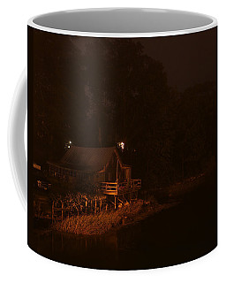 Night On The River Coffee Mug