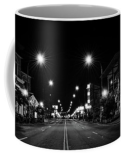 Night On Us 441 In Black And White Coffee Mug