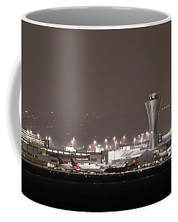 Coffee Mug featuring the photograph Night Operations by Alex Lapidus