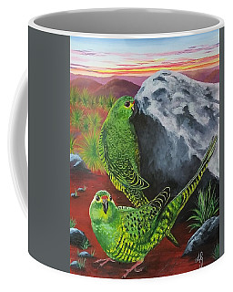 Night Parrots Coffee Mug