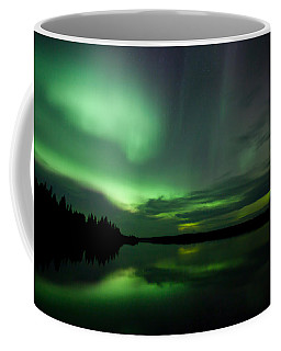 Coffee Mug featuring the photograph Night Show by Yvette Van Teeffelen