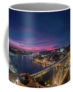 Coffee Mug featuring the photograph Night Sky by Bruno Rosa